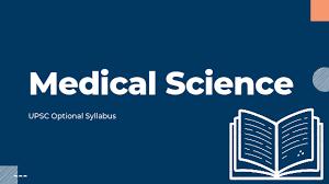 UPSC MEDICAL SCIENCE OPTIONAL SYLLABUS