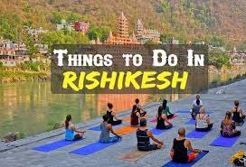 RISHIKESH- THE BEST TOURIST PLACE