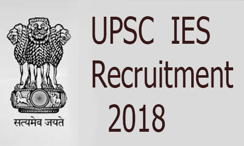UPSC IES Recruitment 2018-19 Job 581 Engineering Services (Prelims) Exam 2019